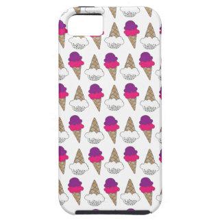 Cool & Colorful Ice Cream Cones iPhone SE/5/5s Case