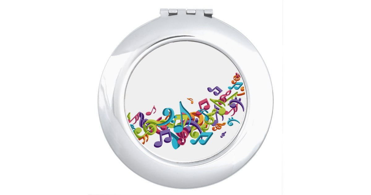 Cool Colorful music notes & sounds music fashion Makeup ...
