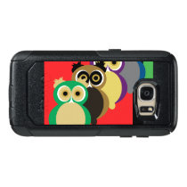 Cool Colorful Owls OtterBox Samsung Galaxy S7 Case