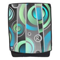 Cool Colorful Pop Art Geometric Pattern Backpack
