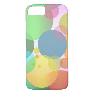 Cool Colorful Random Circles Pattern iPhone 7 Case
