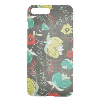 Cool Colorful Retro Flowers iPhone 8 Plus/7 Plus Case