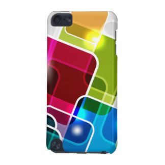 Cool & Colorful Shiny Abstract Squares iPod Touch 5G Case