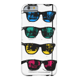 Cool Colorful Sunglasses Illustration Barely There iPhone 6 Case