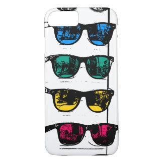 Cool Colorful Sunglasses Illustration iPhone 8/7 Case
