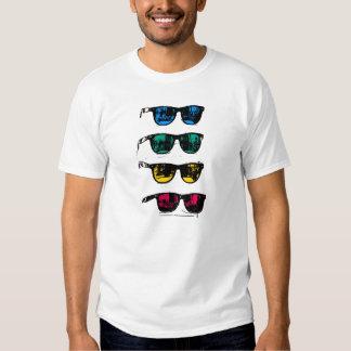 Cool Colorful Sunglasses Illustration T-Shirt