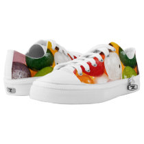 Cool colorful sweet Easter Jelly Beans Candy Low-Top Sneakers