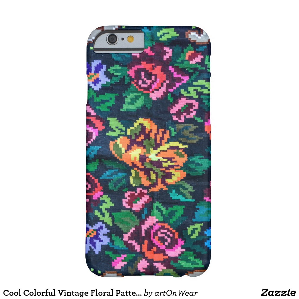 Cool Colorful Vintage Floral Pattern