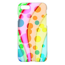 Cool Colorful Wavy Pattern iPhone 8/7 Case