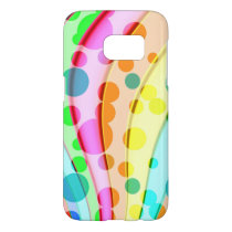 Cool Colorful Wavy Pattern Samsung Galaxy S7 Case