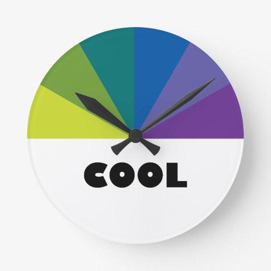 Cool Colors Clock