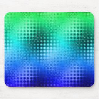 Cool Colors Dot Matrix Mouse Pad