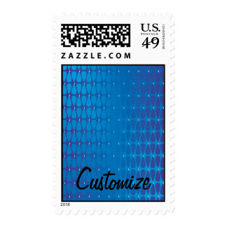 Cool colours in Cohesion Postage Stamps