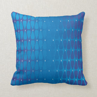 Cool colours in Cohesion Throw Pillow