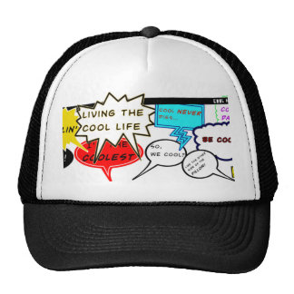 Cool Comic Quotes Trucker Hat