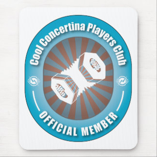 Cool Concertina Players Club Mouse Pad