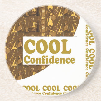 COOL Confidence Motivation Professional Sports Coaster