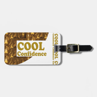 COOL Confidence Motivation Professional Sports Travel Bag Tag