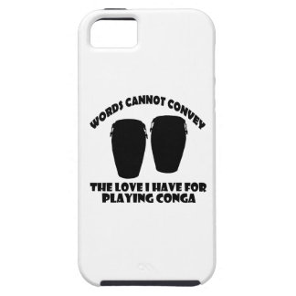 cool conga  designs iPhone SE/5/5s case