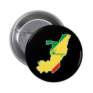 Cool Congo-Brazzaville Button