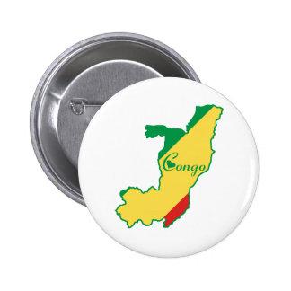 Cool Congo-Brazzaville Pin