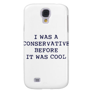 Cool Conservative Galaxy S4 Case