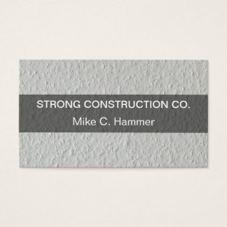 Cool Construction Business Cards