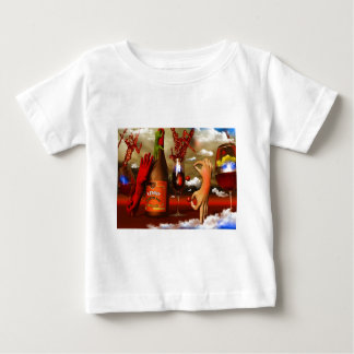 Cool Contemporary Art Baby T-Shirt
