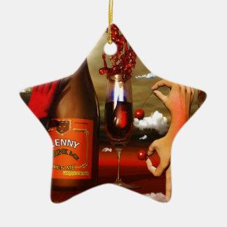 Cool Contemporary Art Christmas Ornament