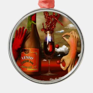 Cool Contemporary Art Ornament