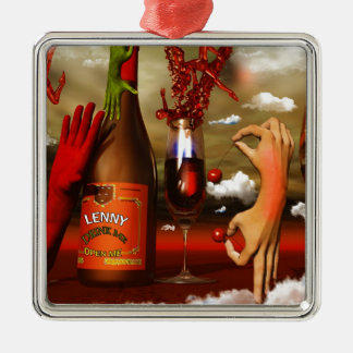 Cool Contemporary Art Christmas Tree Ornaments