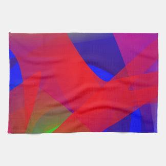 Cool Contrast Art Kitchen Towels