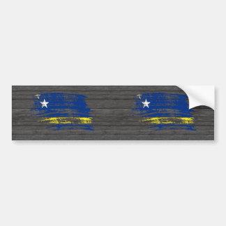 Cool Corazon flag design Car Bumper Sticker