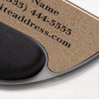 Cool Corkboard Gel Mouse Pad