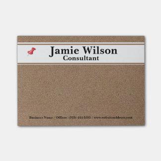 Cool Corkboard Post-it® Notes
