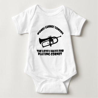 cool Cornet  designs Baby Bodysuit