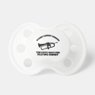 cool Cornet  designs Pacifier