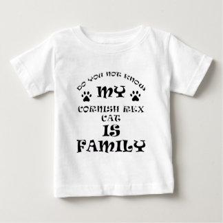 Cool CORNISH REX CAT designs Baby T-Shirt