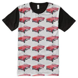 Cool Corvette Pattern All-Over Print T-shirt