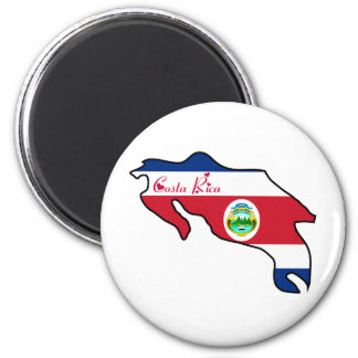 Cool Costa Rica 2 Inch Round Magnet