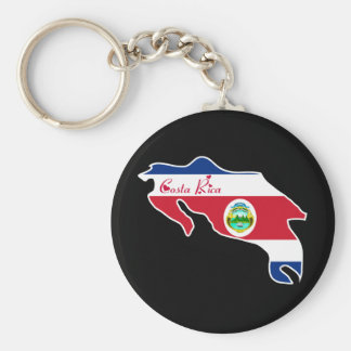 Cool Costa Rica Keychain