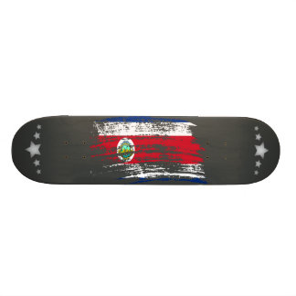 Cool Costa Rican flag design Skateboard Deck