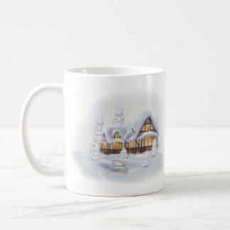 Cool Cottage Basic White Mug