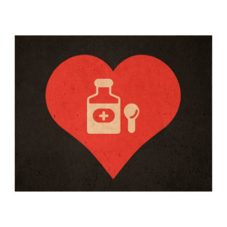 Cool Cough Syrup Picto Cork Paper Print