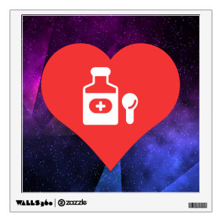 Cool Cough Syrup Picto Wall Graphic
