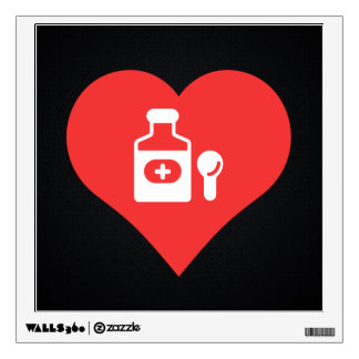 Cool Cough Syrup Picto Wall Graphics