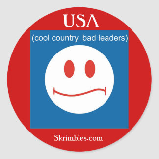 Cool Country Bad Leaders - Sticker