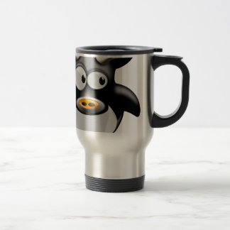 Cool cow travel mug