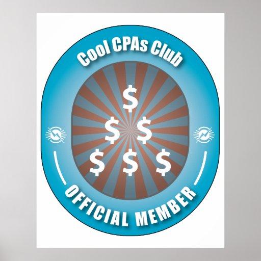 Cool CPAs Club Poster