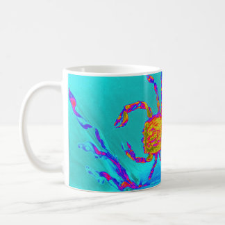 Cool Crab Undersea Art Coffee Mug